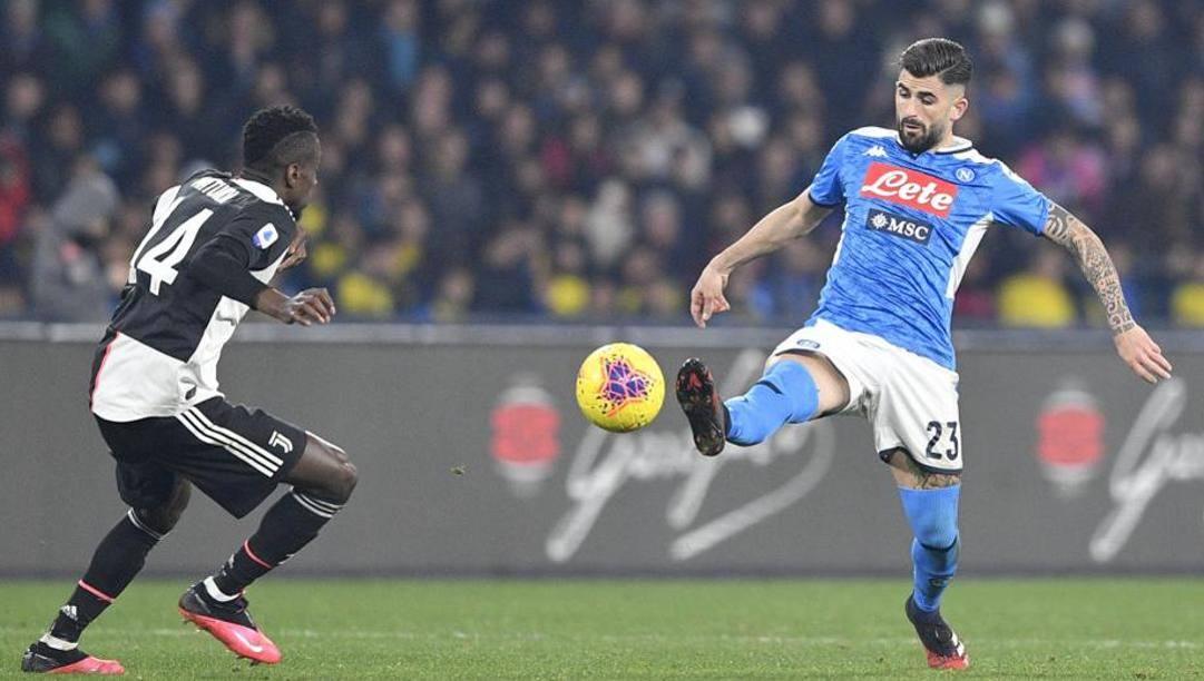 Il 4-3-3 che unisce Sarri tra Napoli e Juventus. Lapresse